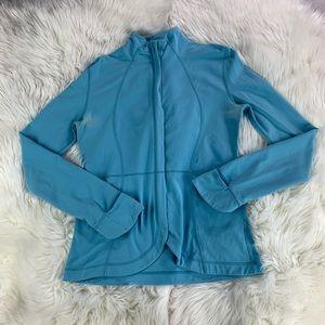 ⭐️4/$20⭐️Lululemon Light Blue Jacket Sz 6